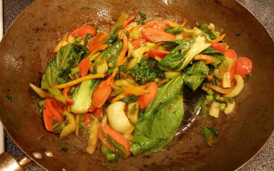 Stir-Fry with Cauli-Rice
