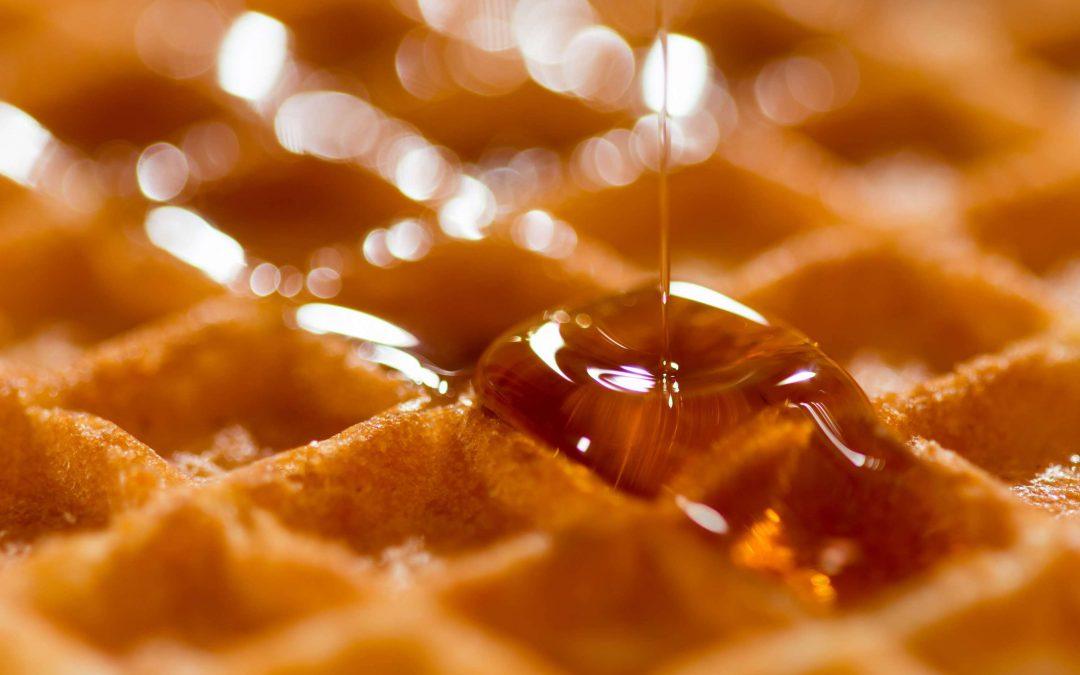 Waffles & Homemade Syrup